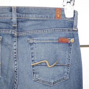 7 For all Mankind boot jeans sz 27 L  -7302-